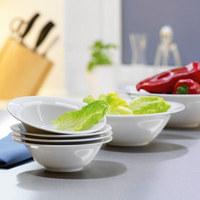 SCHÜSSEL Keramik Porzellan  - Weiß, Basics, Keramik (24cm) - Seltmann Weiden