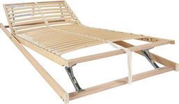 LATTENROST 90/200 cm  - Birkefarben/Buchefarben, Basics, Holz/Kunststoff (90/200cm) - Sleeptex