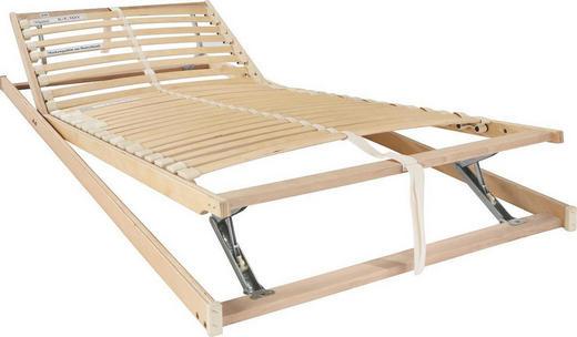 RIBBOTTEN, 90/200 CM - björkfärgad/bokfärgad, Basics, metall/trä (90/200cm) - SLEEPTEX