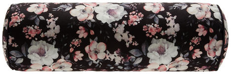Nackenrolle Rosi - Schwarz, ROMANTIK / LANDHAUS, Textil (15/45cm) - James Wood