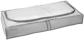 HOPFÄLLBAR FÖRVARINGSKORG - grå, Basics, plast (105/16/45cm)