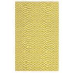 OUTDOORTEPPICH  90/150 cm  Gelb   - Gelb, Trend, Textil (90/150cm) - Boxxx
