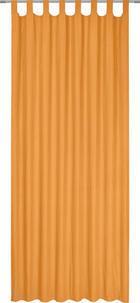 ZAVJESA S OMČAMA - narančasta, Konvencionalno, tekstil (135/245cm) - BOXXX