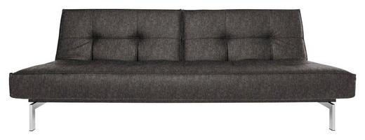 SCHLAFSOFA Grau - Schwarz/Grau, Design, Textil (210/79/96cm) - Innovation