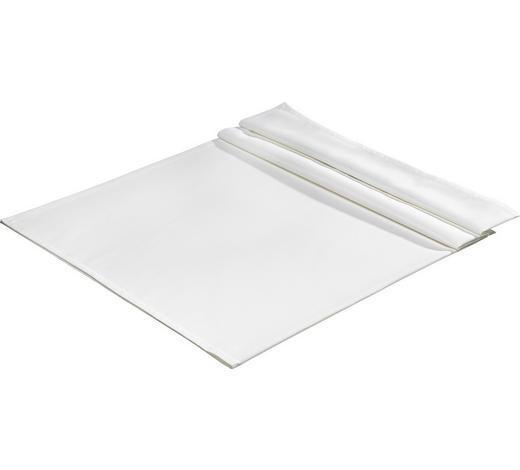 TISCHDECKE Textil Jacquard Weiß 130/170 cm  - Weiß, Basics, Textil (130/170cm)