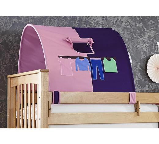 TUNNELSET - Lila/Rosa, Design, Textil (180/13/16cm)