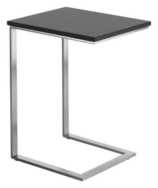 BEISTELLTISCH rechteckig Schwarz - Schwarz, Design (40/52/34cm) - KOINOR