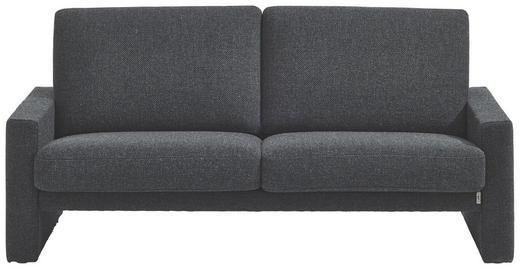 SOFA Anthrazit - Anthrazit/Schwarz, MODERN, Kunststoff/Textil (176/84/96cm) - ERPO