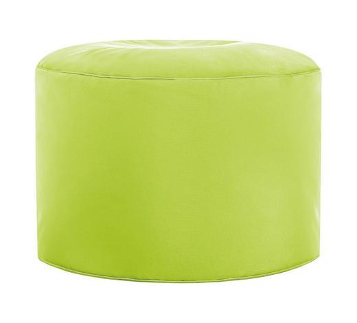 POUF Grün  - Grün, Design, Textil (50/30cm) - Carryhome
