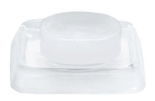 SEIFENSCHALE - Weiß, Basics, Glas (13/2.5/10cm) - SPIRELLA