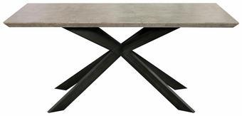 STOL ZA BLAGOVAONICU - Design, drvni materijal/metal (180/76/90cm) - Novel