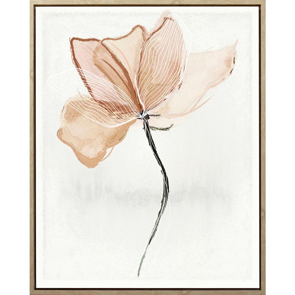 Monee UMĚLECKÝ TISK, květiny, 40/50 cm