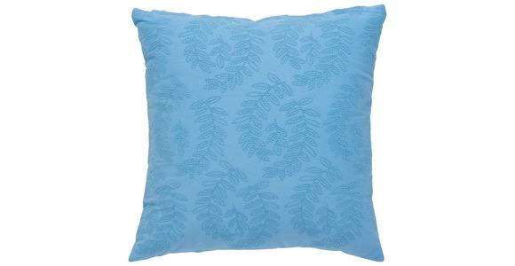 ZIERKISSEN 45/45 cm  - Blau, KONVENTIONELL, Textil (45/45cm) - Esposa