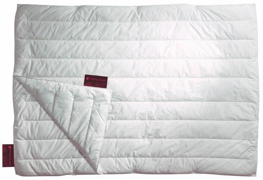 VIERJAHRESZEITENBETT  155/220 cm - Weiß, Textil (155/220cm) - Centa-Star