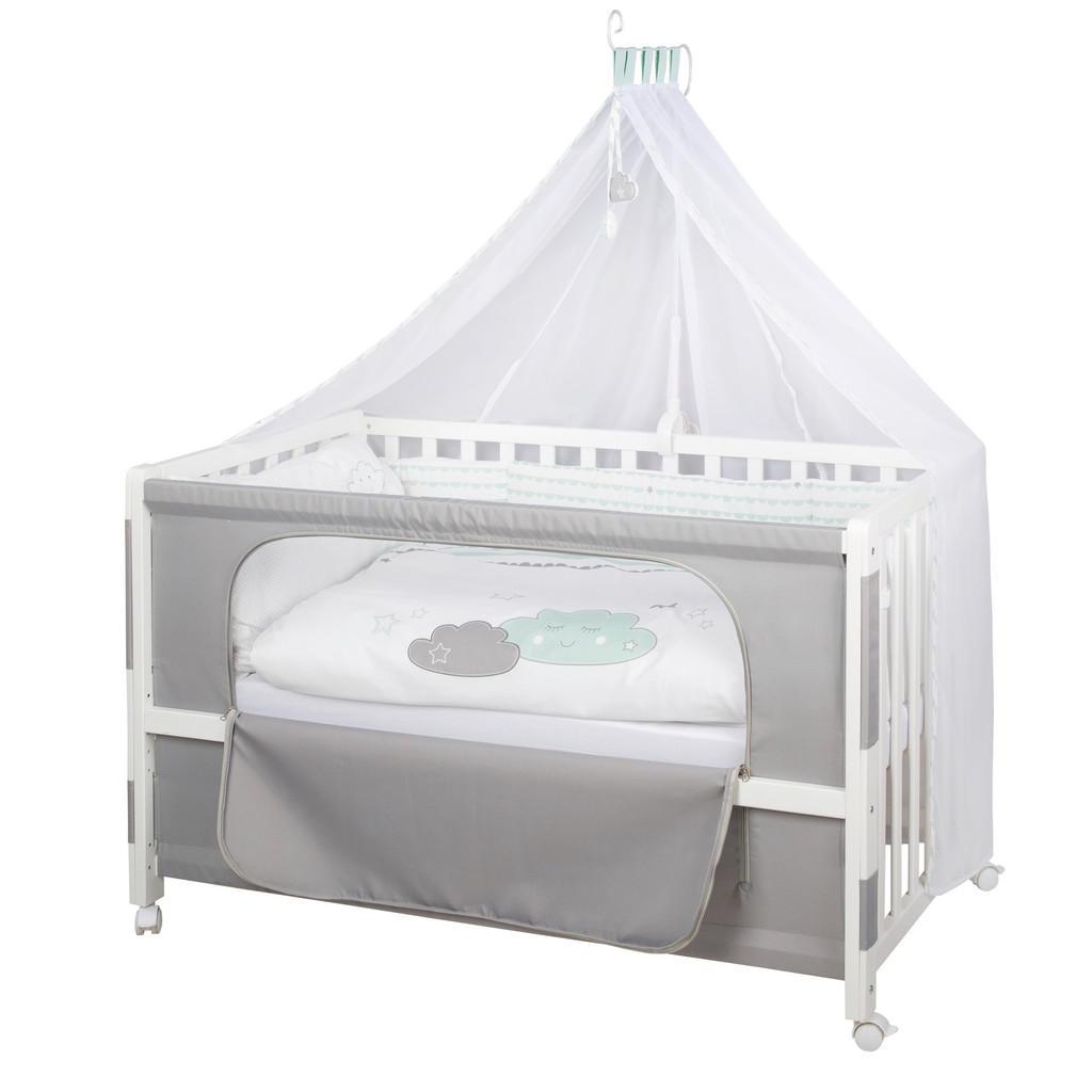 Roba Gitterbett-Komplettset Room Bed Happy Cloud