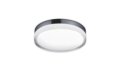LED-DECKENLEUCHTE - Chromfarben, MODERN, Metall (28/6,5cm) - Helestra