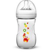 WEITHALSFLASCHE 260 ml - Transparent, Basics, Kunststoff (7,1/16,6/7,1cm) - Avent