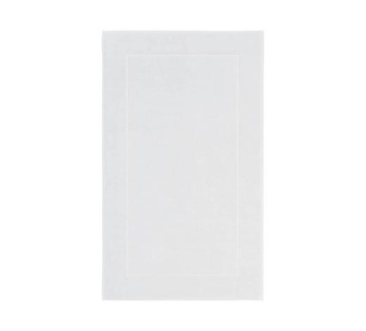 BADEMATTE  Weiß  60/100 cm     - Weiß, Basics, Textil (60/100cm) - Aquanova