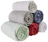 SPANNLEINTUCH 90/200 cm  - Bordeaux, Basics, Textil (90/200cm) - Esposa