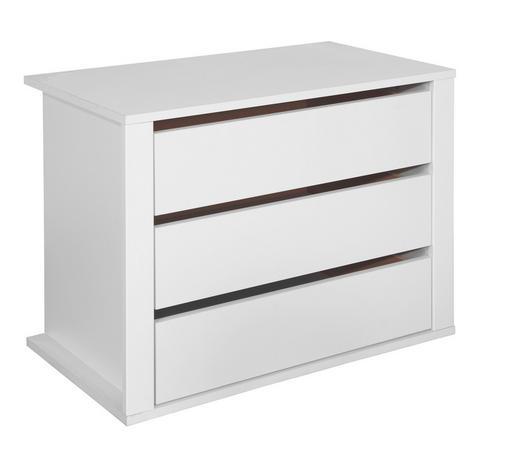 NÁSTAVEC NA ZÁSUVKY, bílá - bílá, Konvenční, kompozitní dřevo (75/54/47cm) - Boxxx