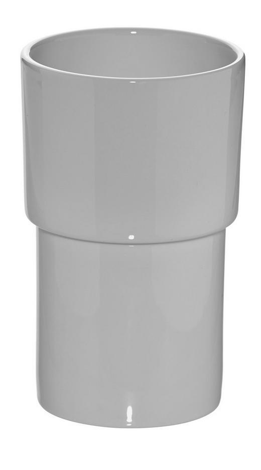 WC-BÜRSTENHALTER - Weiß, Basics, Keramik (10/16cm)