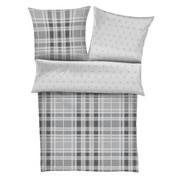 BETTWÄSCHE Flanell Grau 200/200 cm  - Grau, KONVENTIONELL, Textil (200/200cm) - S. Oliver
