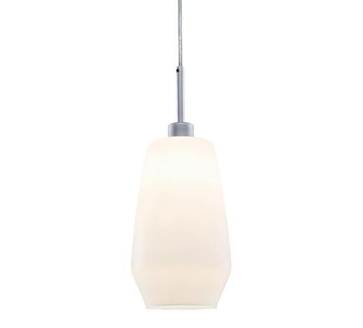 URAIL SCHIENENS.-HÄNGELEUCHTE   - Chromfarben, Design, Glas/Metall (12,5/20cm)