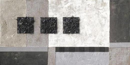 Abstraktes ORIGINALBILD - Multicolor, Basics, Holz/Textil (50/110/3,80cm) - EUROGRAPHICS