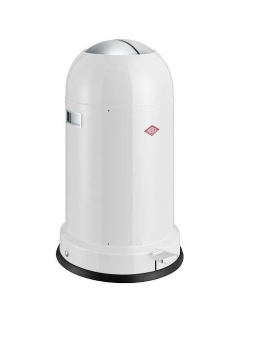 ABFALLSAMMLER Kickmaster CL Soft 33 L - Schwarz/Weiß, Basics, Kunststoff/Metall (41/69cm) - Wesco