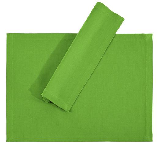 TISCHSET 33/45 cm Textil - Grün, Basics, Textil (33/45cm) - Novel