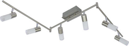 LED-STRAHLER - Chromfarben, Design, Glas/Metall (150/17,5/8cm) - Boxxx