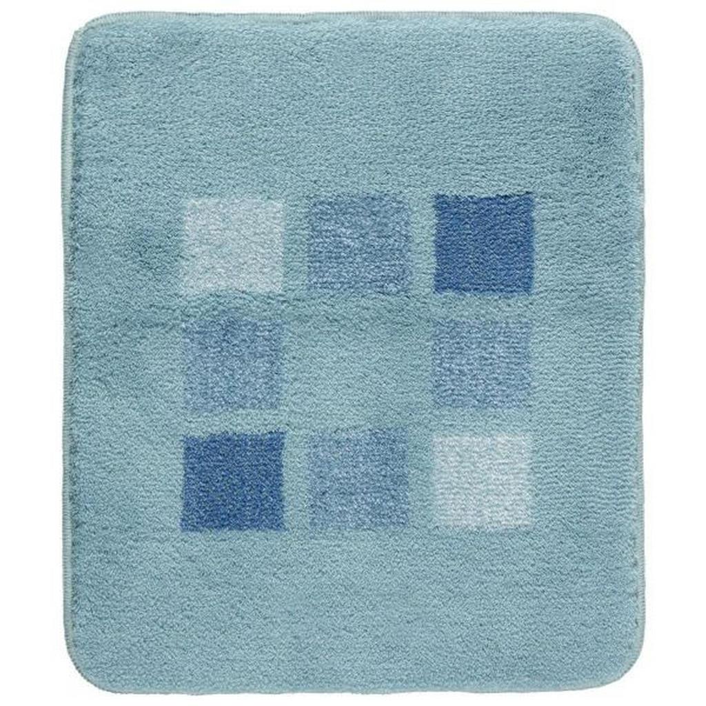 Kleine Wolke Badteppich in blau