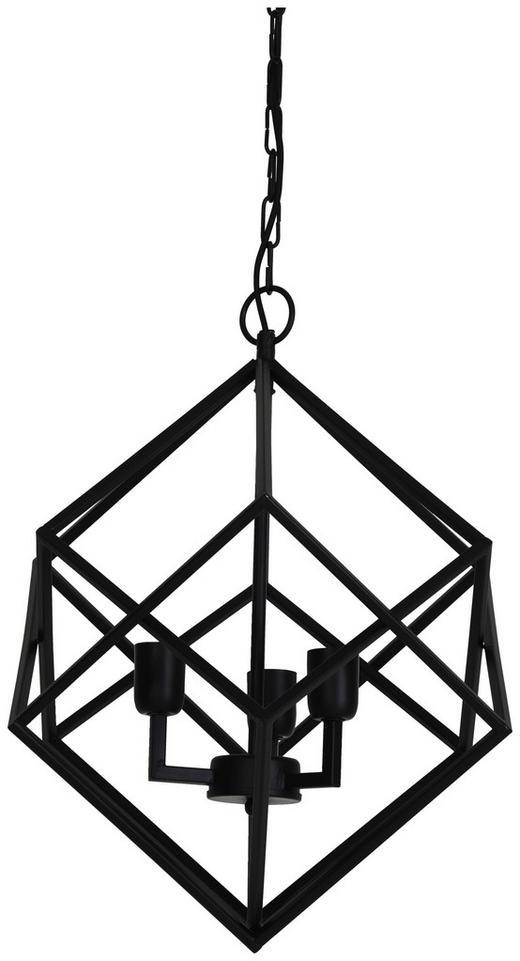HÄNGELEUCHTE - Schwarz, Trend, Metall (46/56cm)