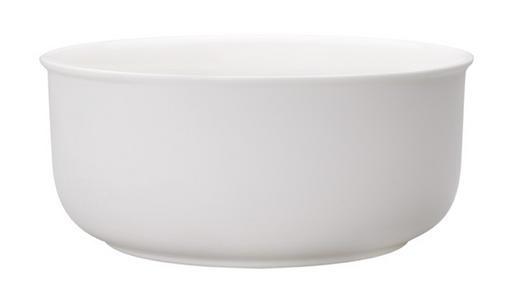 SCHÜSSEL Keramik Porzellan - Weiß, Basics, Keramik (20cm) - Villeroy & Boch