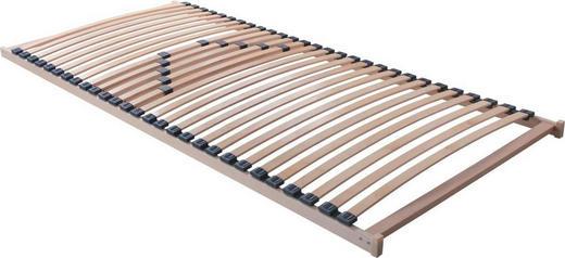 LATTENROST 90/200 cm   Birke Echtholz - Birkefarben, Design, Holz/Kunststoff (90/200cm) - Carryhome