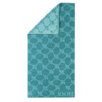 Handtuch 50/100 cm - Türkis, Design, Textil (50/100cm) - Joop!