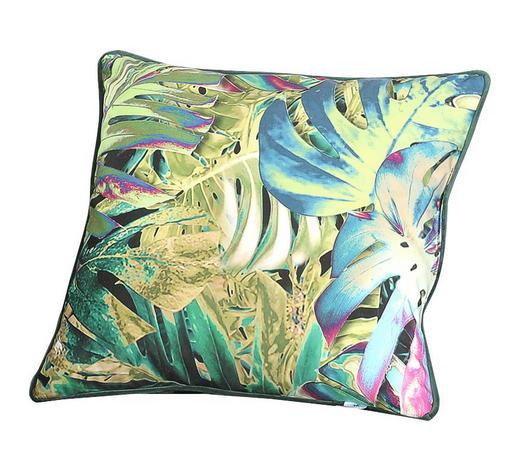 ZIERKISSEN - Dunkelgrün/Multicolor, Trend, Textil (50/50cm) - Carryhome