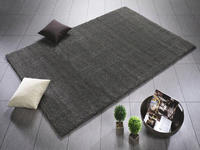 WEBTEPPICH  65/130 cm  Grau - Grau, Textil (65/130cm) - Novel