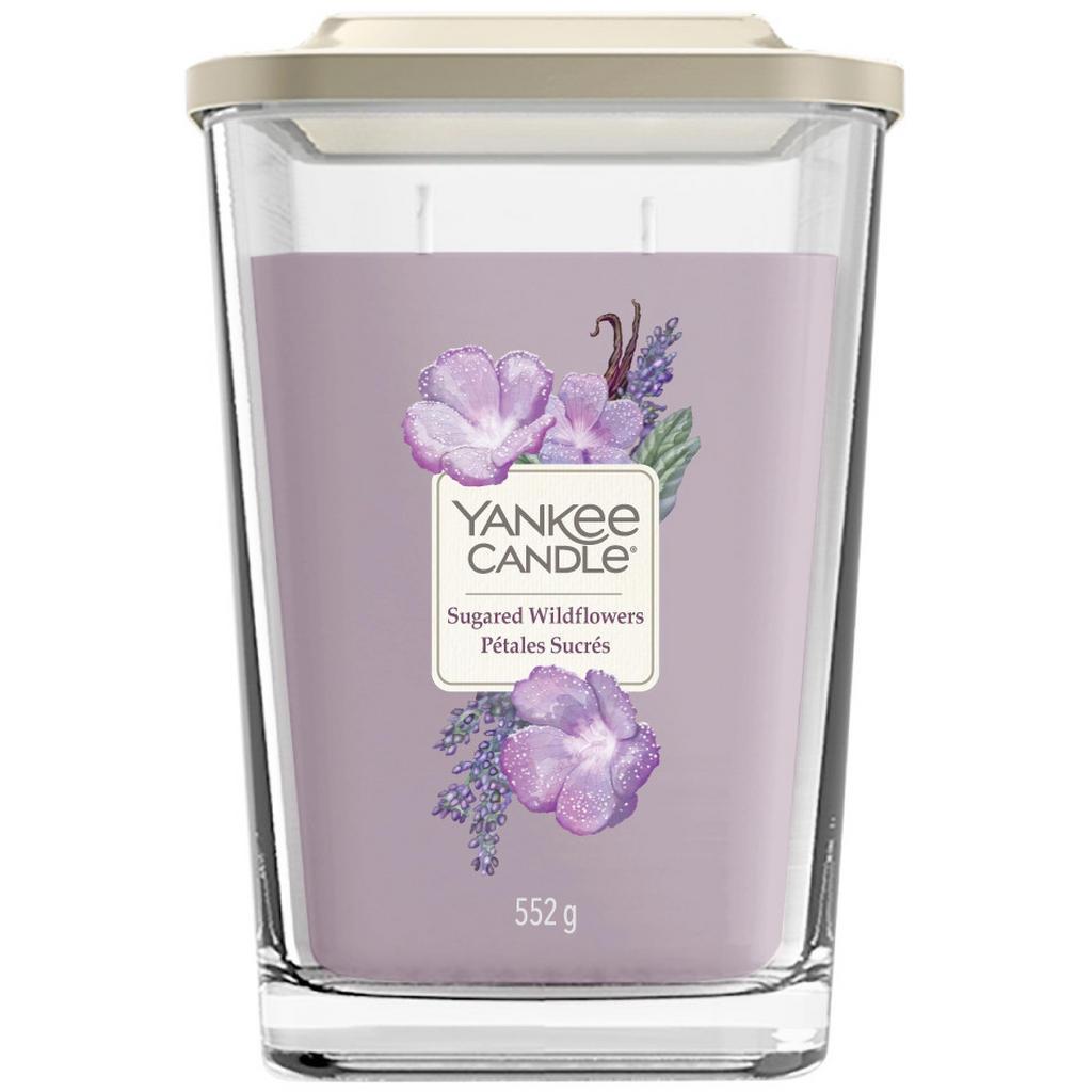 Yankee Candle Duftkerze yankee candle elevation sugared wildflower