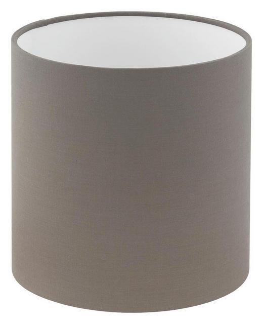 LEUCHTENSCHIRM  Grau  Textil  E27 - Grau, Design, Textil (18/18cm) - MARAMA