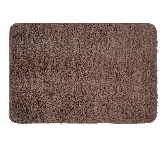 Badematte in Taupe 60/90 cm  - Taupe, Basics, Kunststoff/Textil (60/90cm) - Esposa