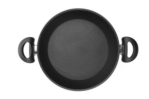 PFANNE 28 cm PTFE-Antihaftbeschichtung - Schwarz, Basics, Metall (28cm) - BALLARINI