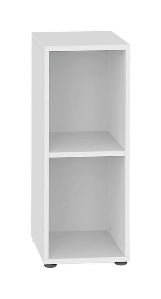 REGAL Weiß - Schwarz/Weiß, Design, Holz/Kunststoff (40/80.5/32.5cm) - Welnova