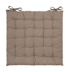 SITTDYNA - mullvadsfärgad/gråbrun, Basics, textil (40/40/3cm) - Boxxx