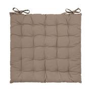 SITZKISSEN 40/40/3 cm - Taupe, Basics, Textil (40/40/3cm) - Boxxx