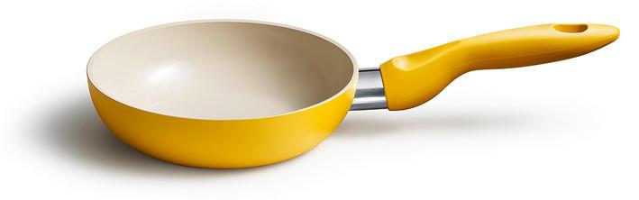 PFANNE 16 cm - Gelb, Metall (16cm) - KELOMAT