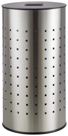 TVÄTTUNNA - svart/rostfritt stål-färgad, Basics, metall (29,5/54cm) - Homeware