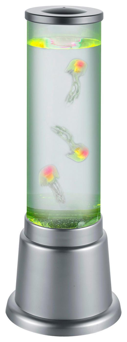 LED-TISCHLEUCHTE - Titanfarben, Trend, Kunststoff (12,5/36,0cm)
