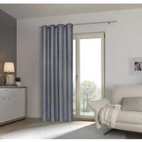 ZÁVĚS HOTOVÝ - šedá, Design, textil (135/245cm) - ESPOSA