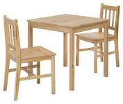 TISCHGRUPPE in Holz Kieferfarben  - Kieferfarben, Basics, Holz (70/73/70cm) - Carryhome